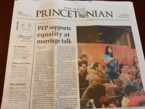 Anscombe Supports (Media) Equality! This headline is absurdly biased.