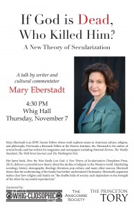 Please come to Eberstadt's engaging talk!